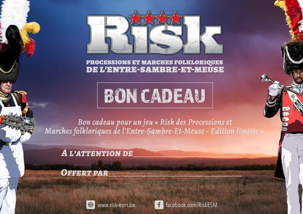 Risk des Processions et Marches folkloriques de l'Entre-Sambre-Et-Meuse - Bon Cadeau - Version électronique