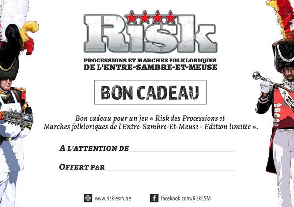 Risk des Processions et Marches folkloriques de l'Entre-Sambre-Et-Meuse - Bon Cadeau - Version à imprimer